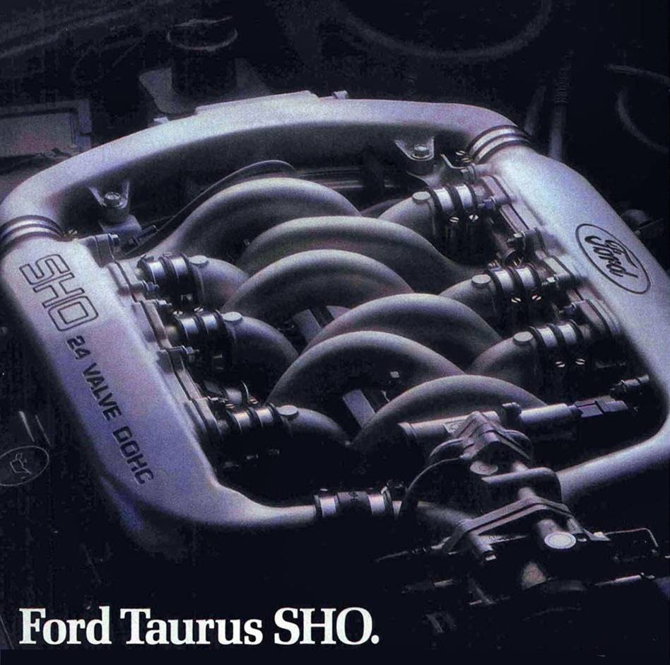 ford-taurus-sho-1989-engine