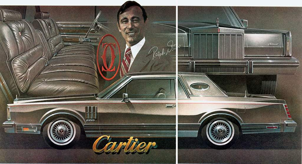 Lincoln Continental Cartier