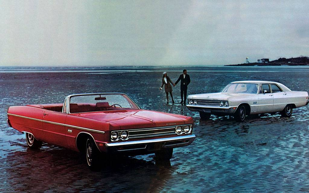 Plymouth Fury 1969 года