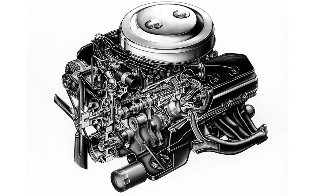 Chrysler Hemi 426 engine