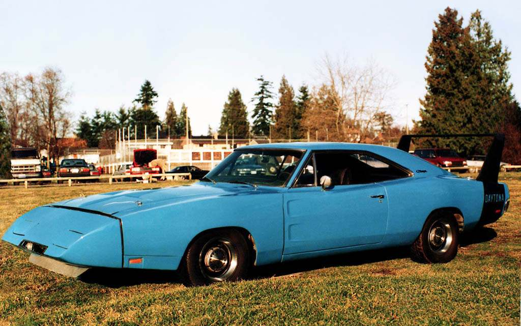 Автомобили Dodge: Charger Daytona 1969
