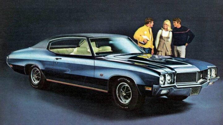 Buick GS Stage 1 1970 года
