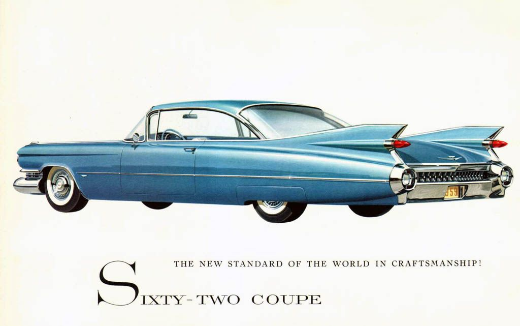 Cadillac 1959 Sixty Two Coupe